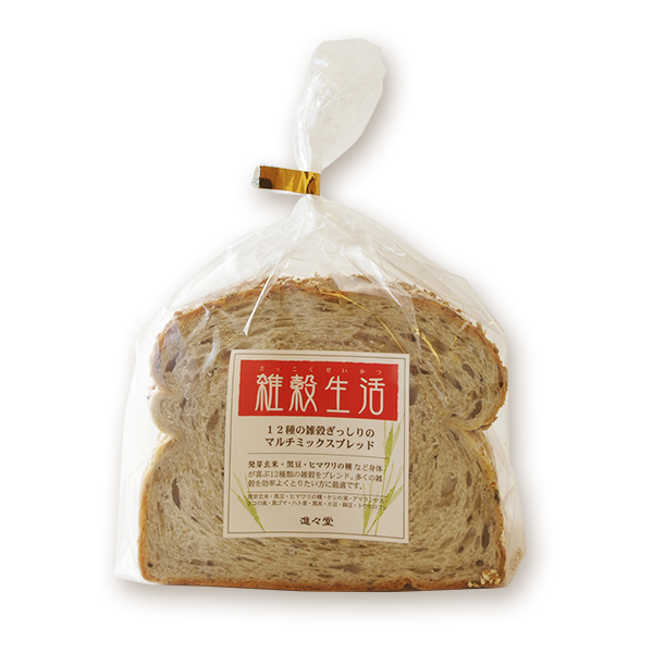 Multi grain bread (Job's tears, black soybean, etc.)