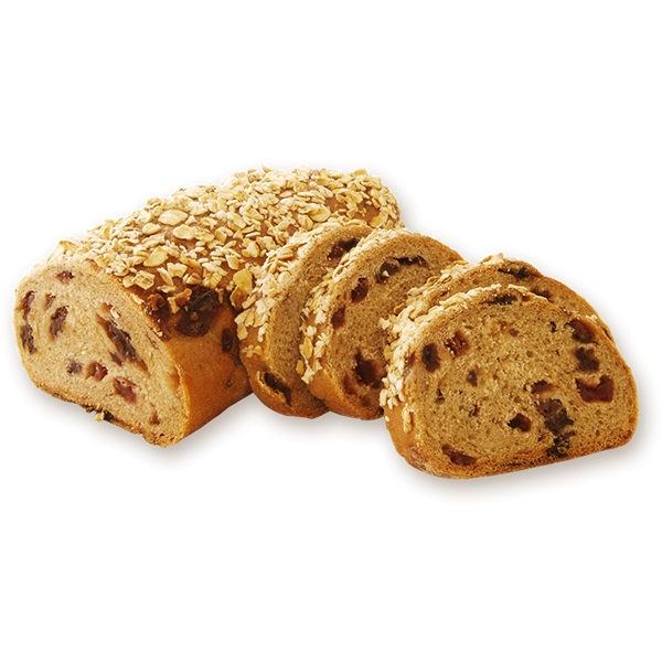 Roggenmischbrot with currants & cranberries