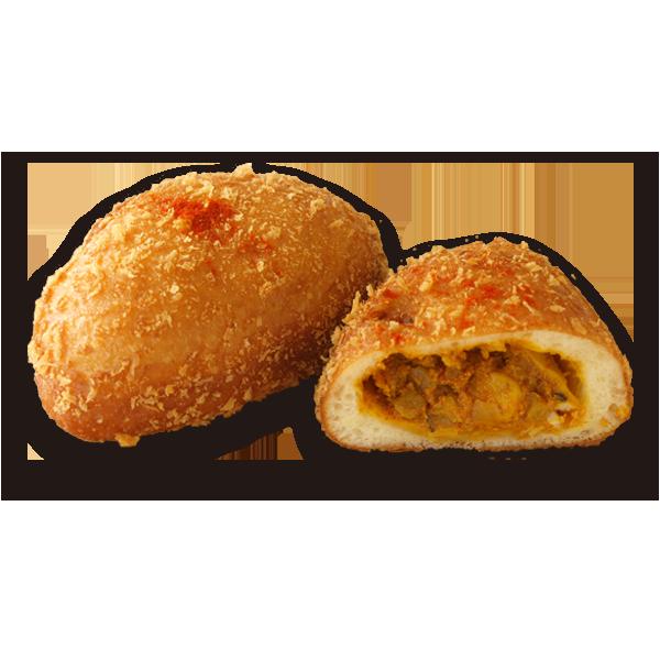 南インド のヴィンダルーカレーパン