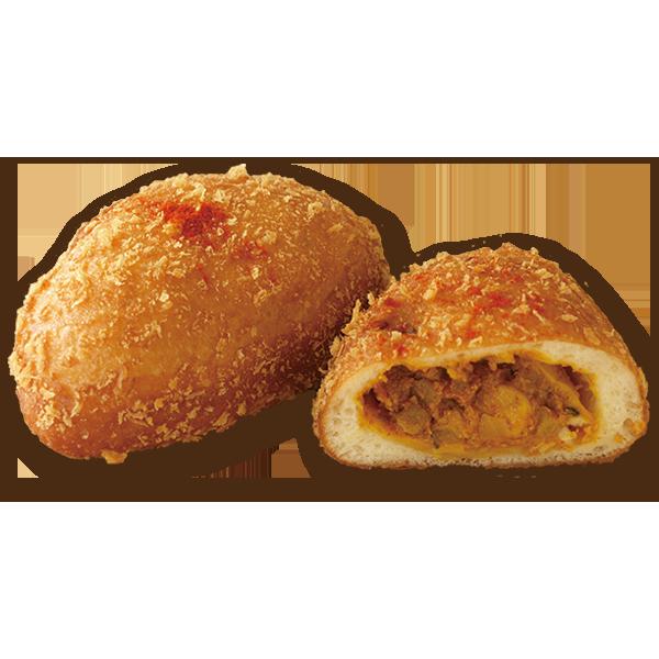 徳島県産地鶏 阿波尾鶏を使った南インドのヴィンダルーカレーパン