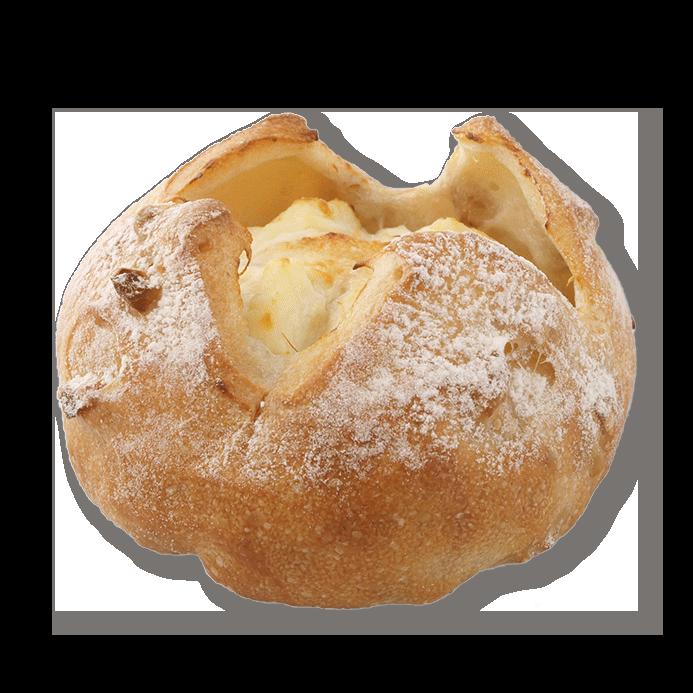 クリームチーズのくるみパン