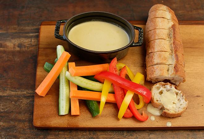 おつまみバゲットバーニャカウダ&野菜スティック